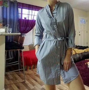 Cute casual shirt dress